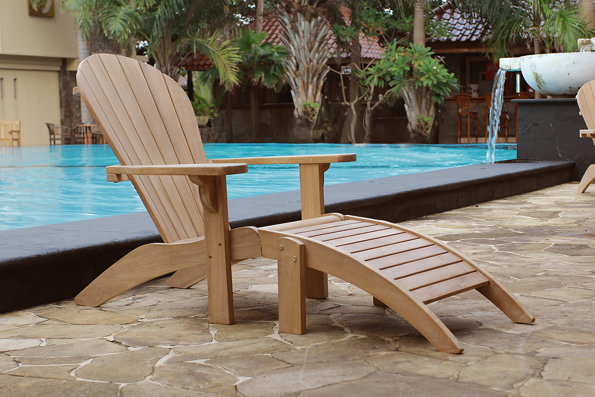 Superior Teak Adirondack Chair