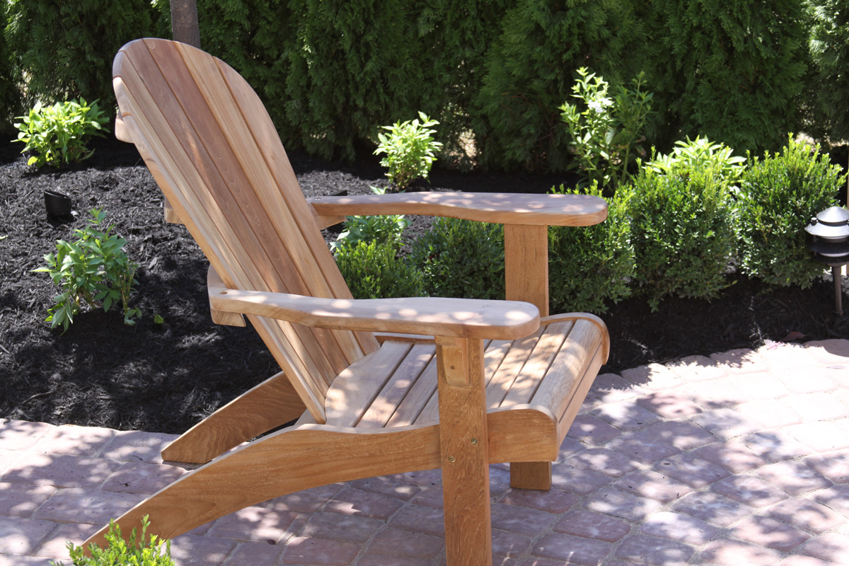 Teak Adirondack Chair & Teak Adirondack Chair [8ADIR-CH-H] - $470.66 : BenchSmith.com ...