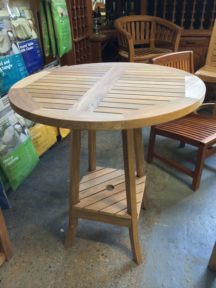 Avalon Round Bar Table