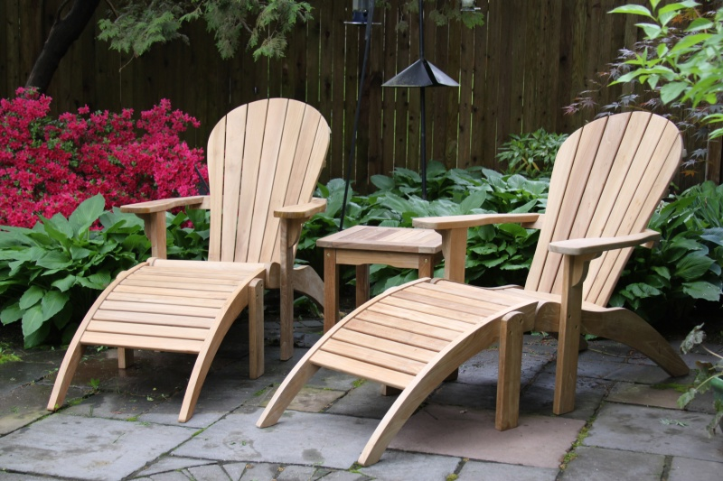 Teak Adirondack Chair - Click Image to Close