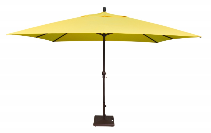 8' X 11' CRANK LIFT ALUMINUM UMBRELLA