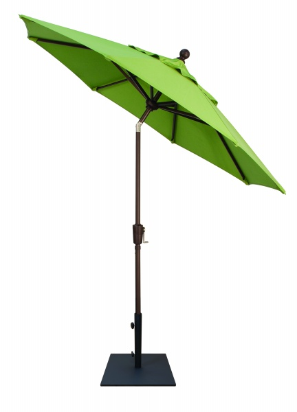 7.5' PUSH BUTTON TILT OCTAGON UMBRELLA