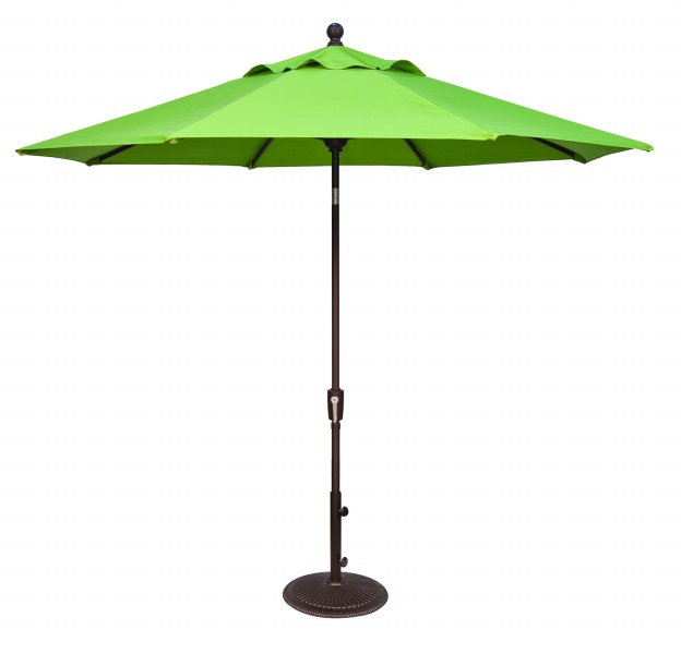 9'PUSH BUTTON TILT OCTAGON UMBRELLA