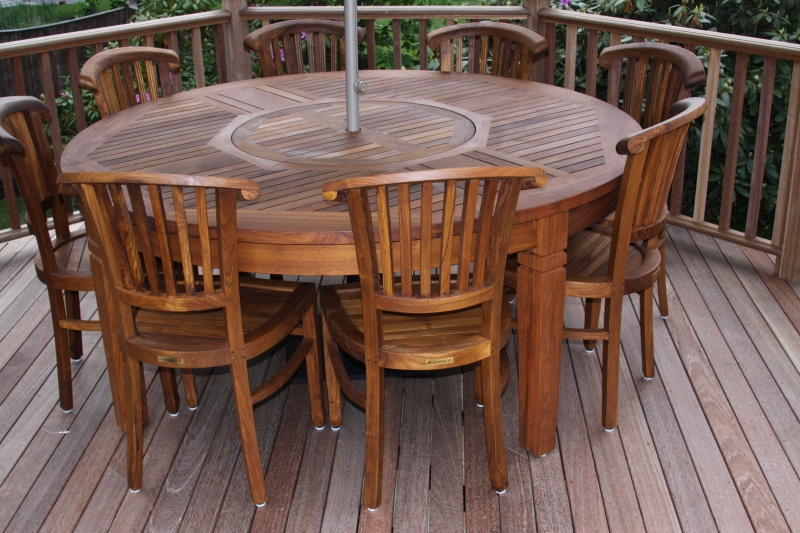 Round Teak Dining Table And Chairs Dining Room Ideas
