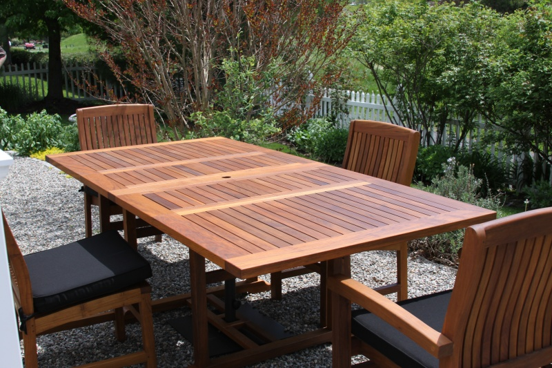 Buckingham Teak Extension Tables