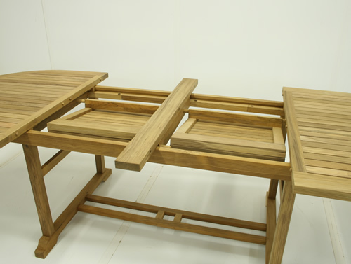 Buckingham Teak Extension Tables - Click Image to Close