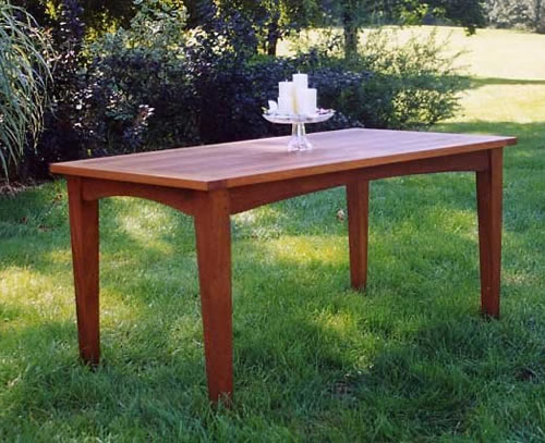 Shaker Style Table - Click Image to Close