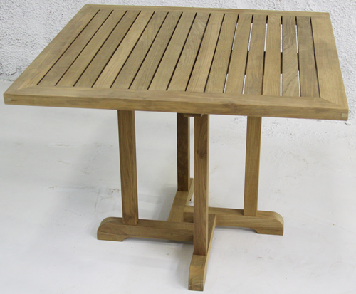 Square Teak Tables