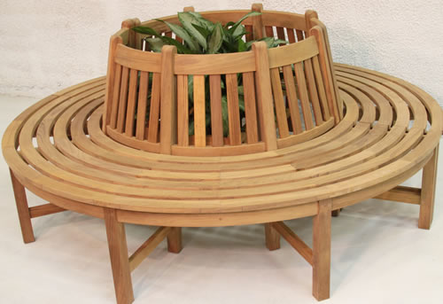Classic Tree Bench - Click Image to Close